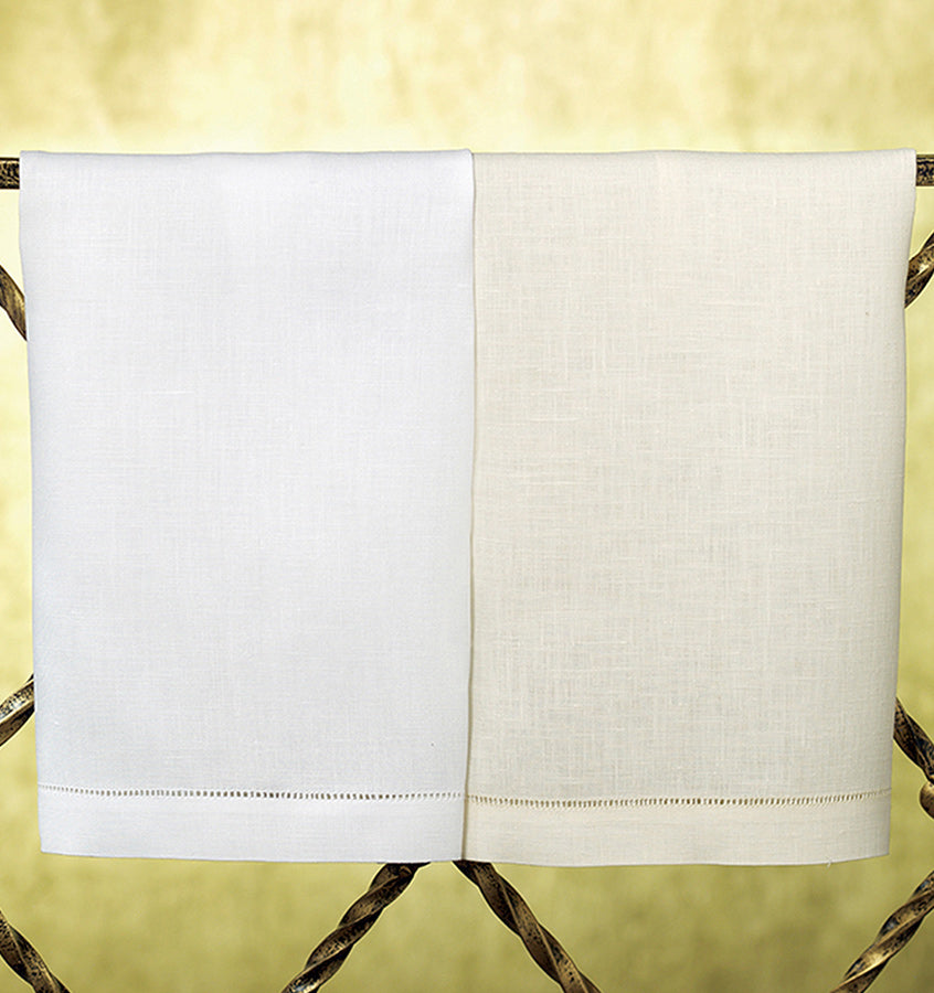 Sferra Classico Linen Guest Towel  - Set of 4