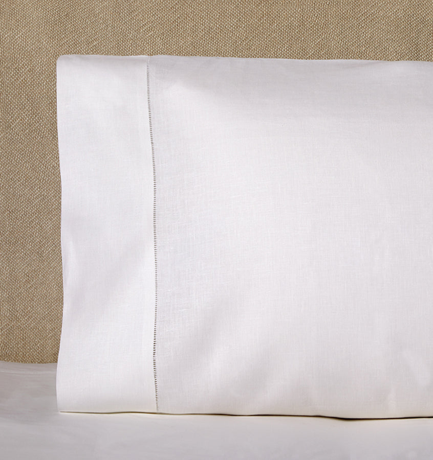 Sferra Classico Linen Pillowcase Pair