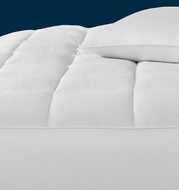 Monmouth European White Goose Down Mattress Pad