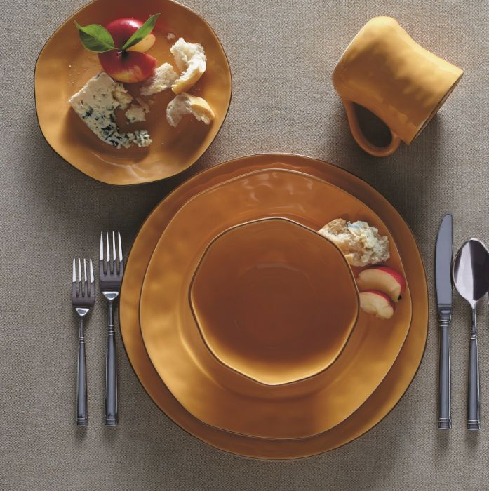 Cantaria Dinnerware, Golden Honey