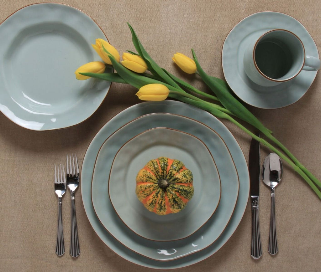 Cantaria Dinnerware, Sheer Blue