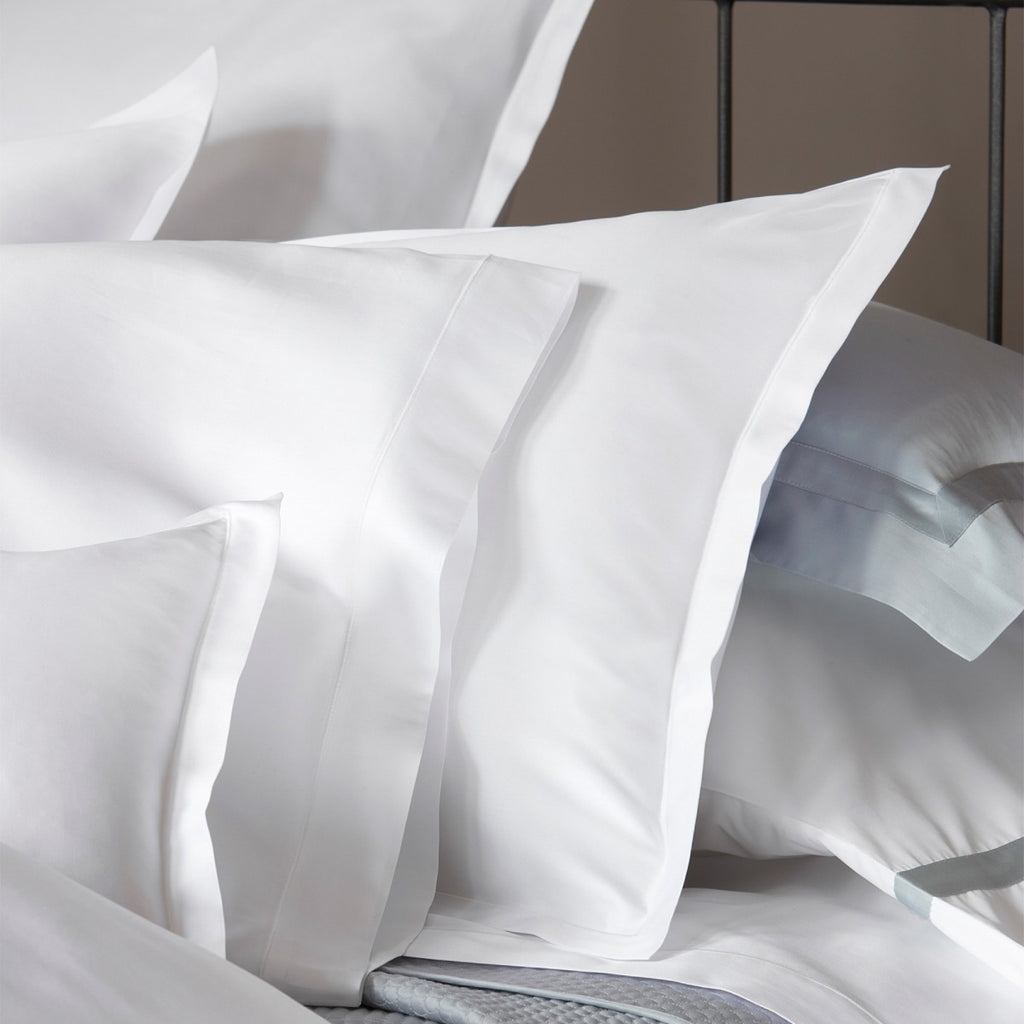 Matouk Talita Giza Satin Stitch Bedding Collection
