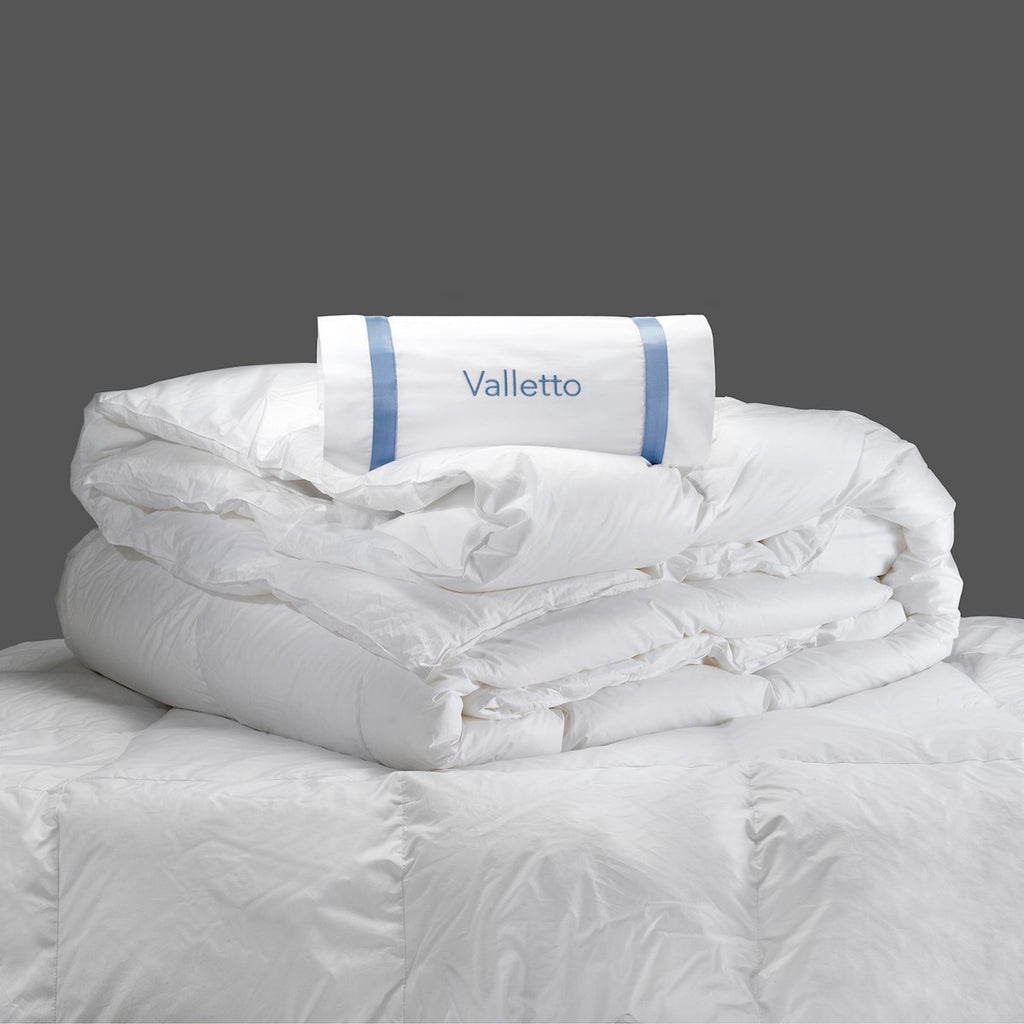 Valletto European White Goose Down Comforter