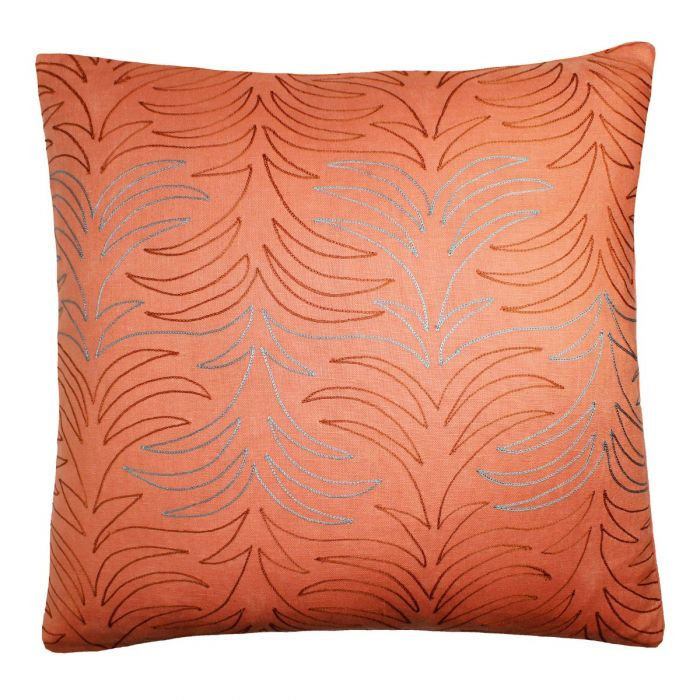 Villosa Decorative Pillow - Peach Multi