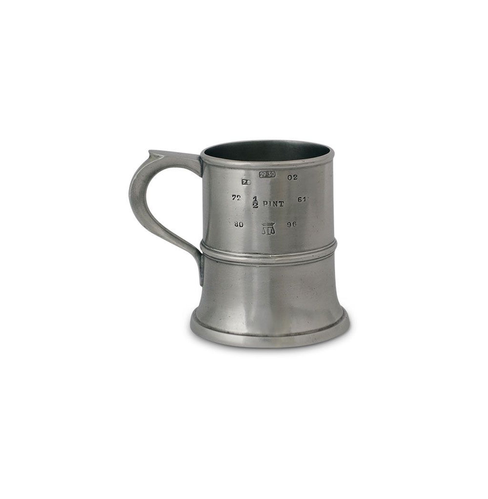 Match Pewter Tankard Half Pint