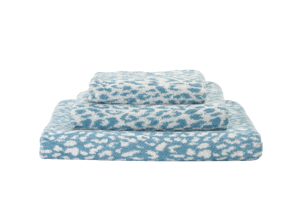 Abyss & Habidecor Zimba Bath Towel in Atlantic