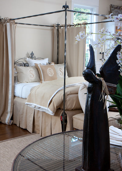 Jan Barboglio Decor and Legacy Bedding at The Picket Fence