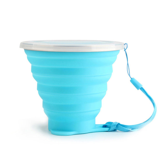 Reusable Silicone Collapsible Cup