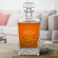 Personalized Rectangular 24 oz. Decanter – Whiskey - Xtreme Designs