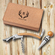 Personalized Wine Opener Set - Cork - Xtreme Designs