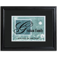 Personalized Slate Family Name Frame - Xtreme Designs