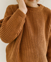 Load image into Gallery viewer, 'Terra Cotta' Chunky Knit Pullover