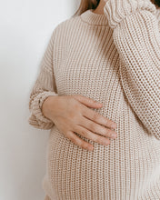 Load image into Gallery viewer, Stone - Women's Chunky Knit Sweater