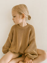 Load image into Gallery viewer, 'Wheat' Chunky Knit Pullover