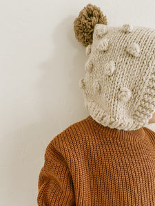 'Terra Cotta' Chunky Knit Pullover