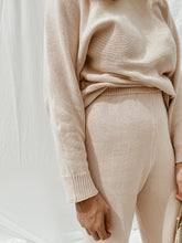 Load image into Gallery viewer, Women's Nude Beige Knit Pant