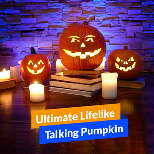 Ultimate Lifelike Talking Pumpkin