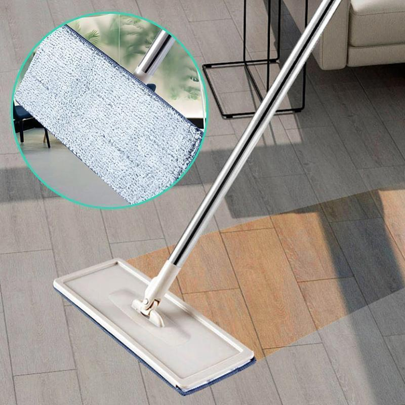 Flat Squeeze Automatic Avoid Hand Washing Mop