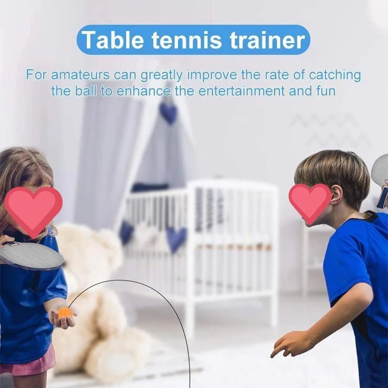 Table Tennis Trainer Exercise Toy