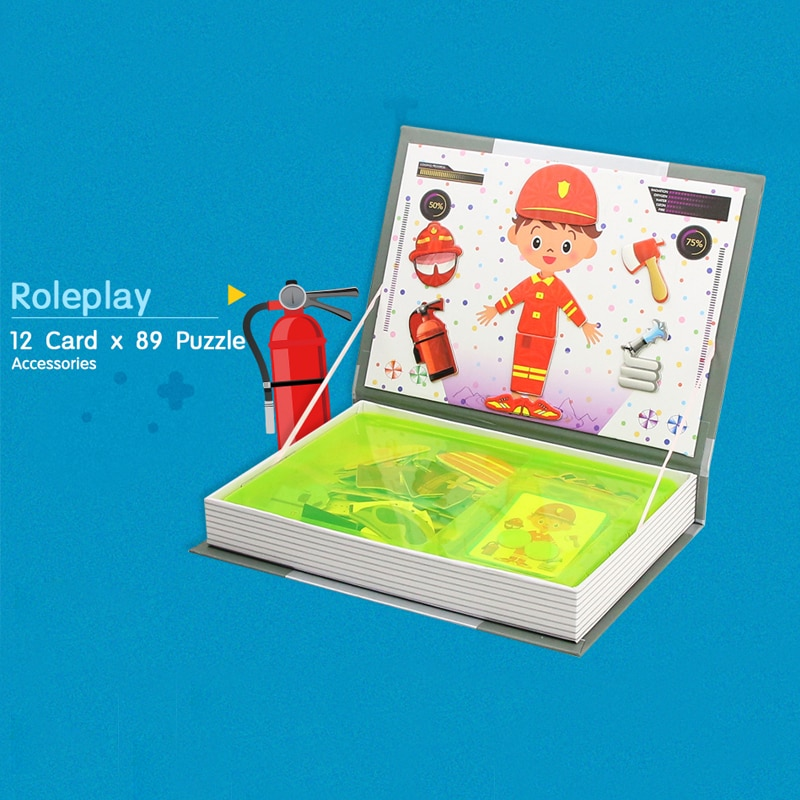 Children's Intelligent Magnetic Book