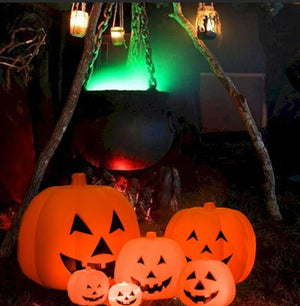 Halloween Music Pumpkin Lighting