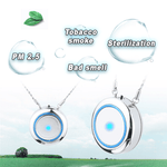 Air Purifier USB Necklace