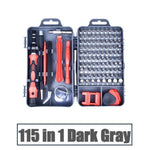 Screwdriver set 115 in 1 Precision magnetic screwdriver set