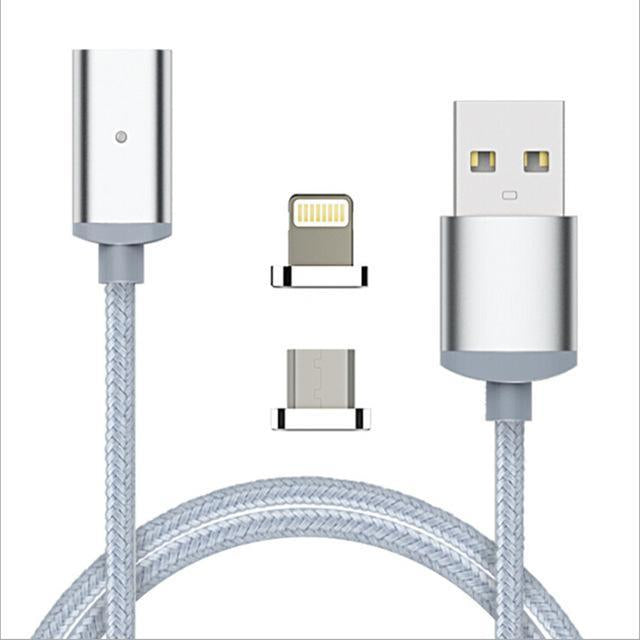 2.4A High Speed Charging Magnetic Cable for iOS & Android Devices