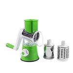 Manual Multifunctional Round Mandoline Slicer Potato Cheese Vegetable Cutter Slicer Kitchen Gadgets