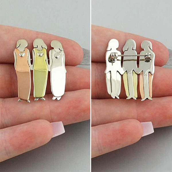 Bond Between Sisters Pin