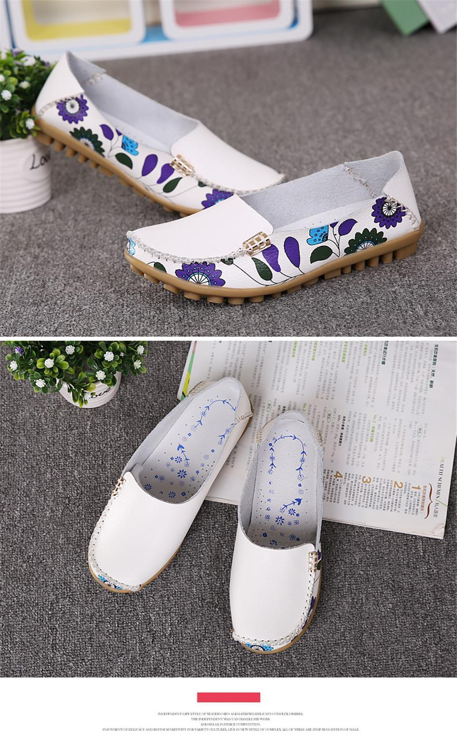 Floral Orthopedic Loafers