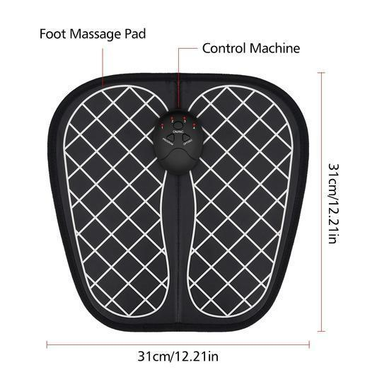 Electric EMS Foot Massager ABS Physiotherapy
