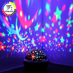 Rotating Night Light Projector