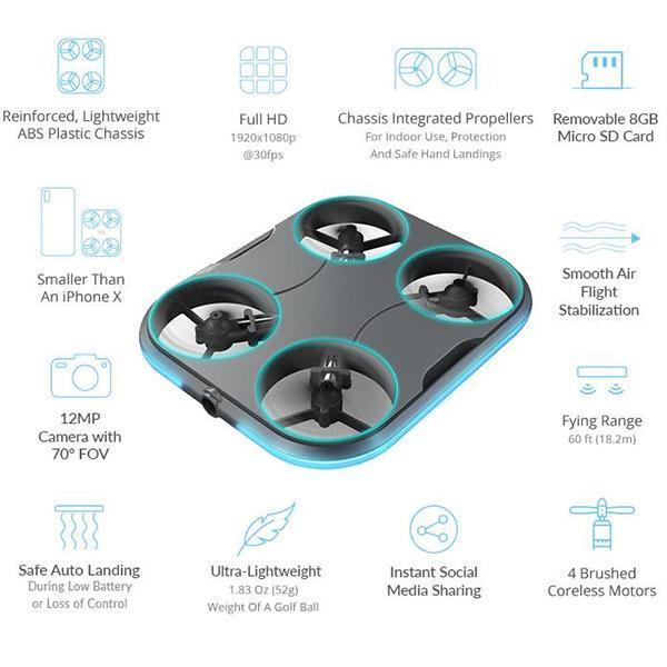 Pocket drone (air photographer)
