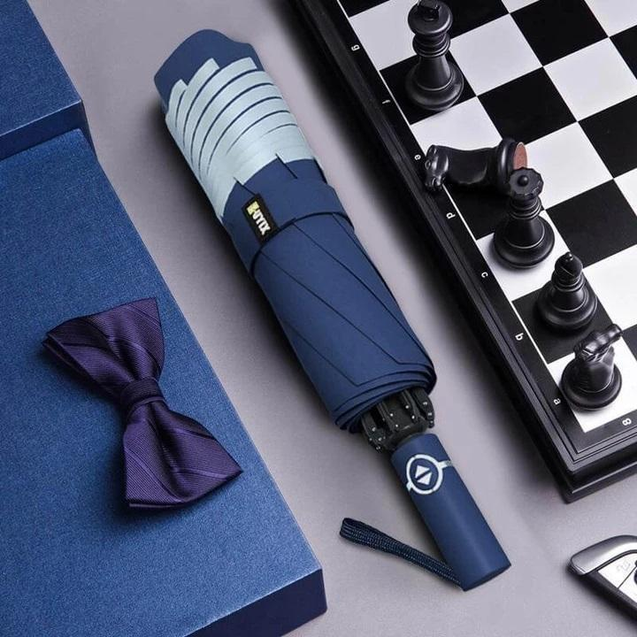 AUTO OPEN CLOSE FOLDING UV RAIN UMBRELLA