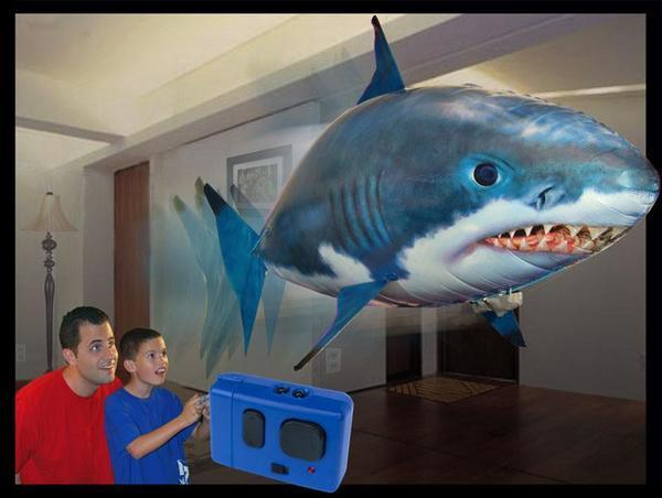 Air Shark - The Remote Controlled Fish Blimp