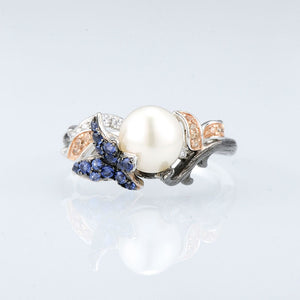 Ring Perle (silber 925)