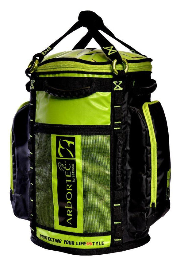 Lime Arbortec Cobra Rope Bag - 55L.