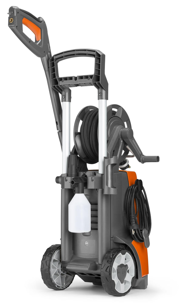 Husqvarna PW125 Pressure Washer back view.
