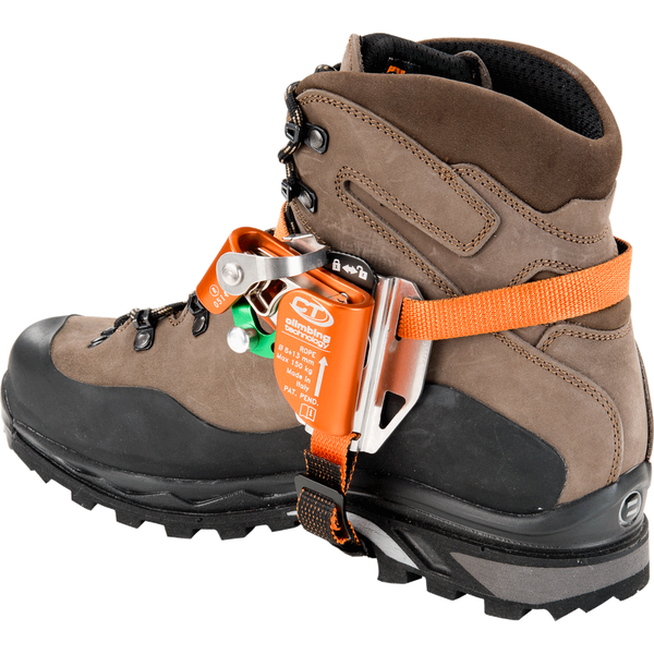 CT Climbing Technology Quick Tree on a climbing boot