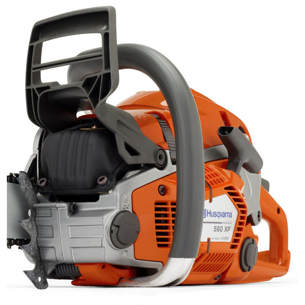 Husqvarna 560XPG Chainsaw close up