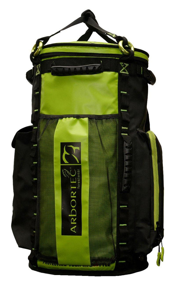 Lime Arbortec Cobra Rope Bag - 65L.