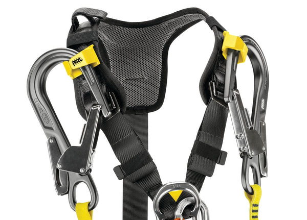Petzl Avao bod fast harness top.