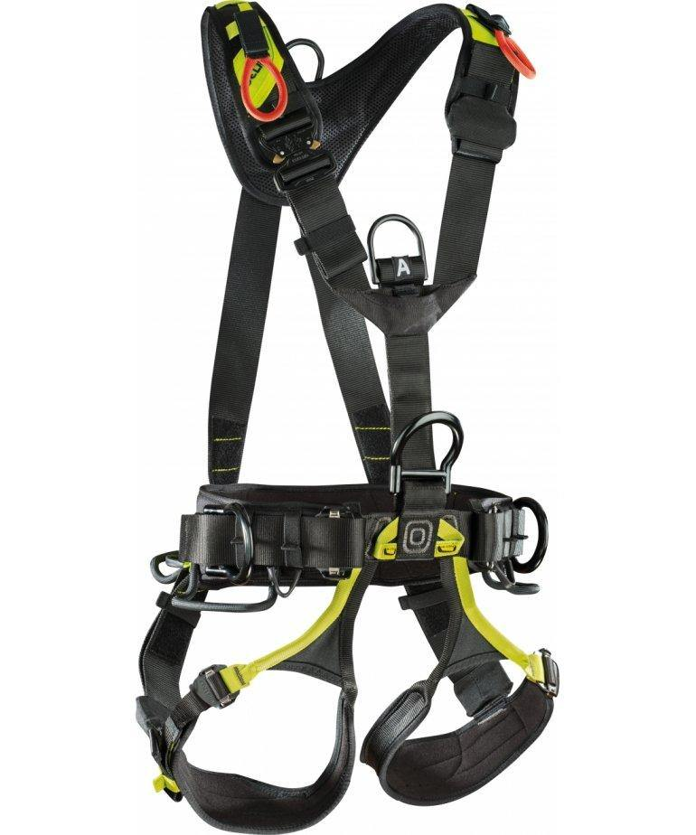 Edelrid Vertic Triple Lock Harness front view