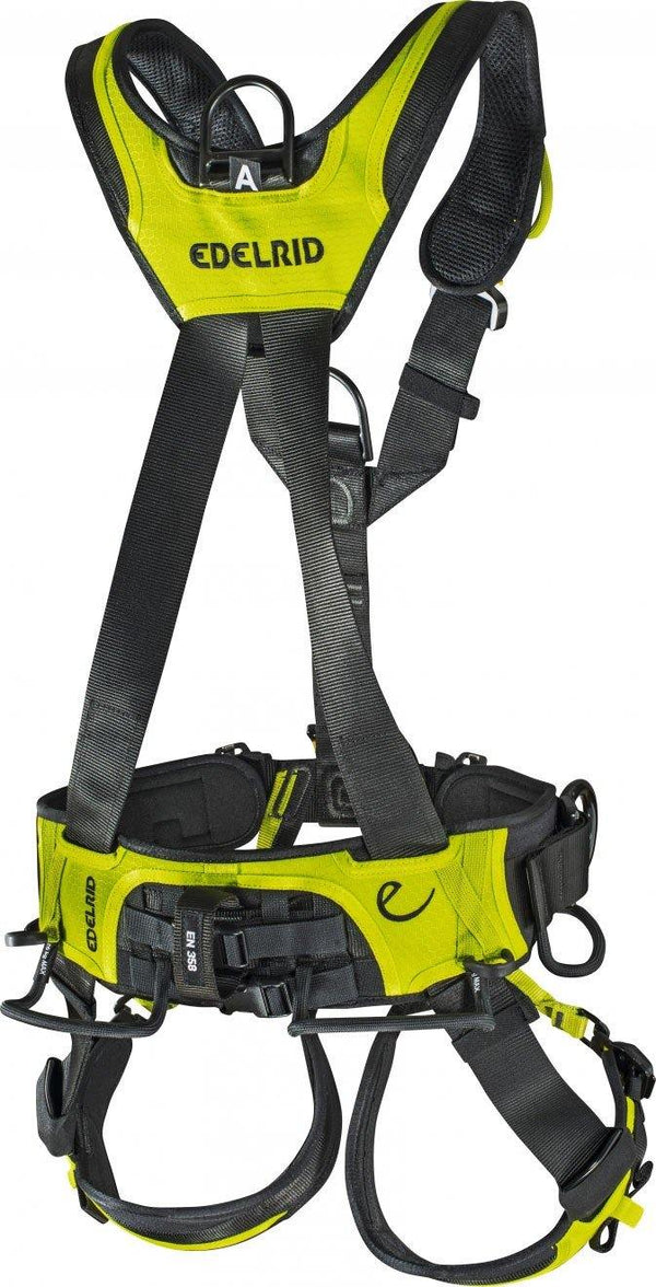 Edelrid Vertic Triple Lock Harness back view