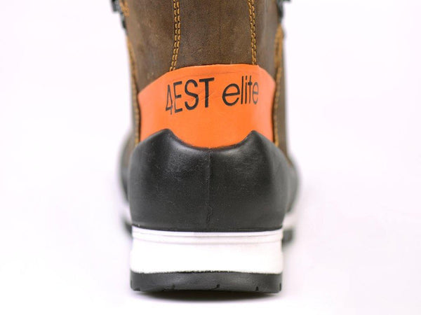 Lavoro Elite Chainsaw Boots showing the heel (Footwear)