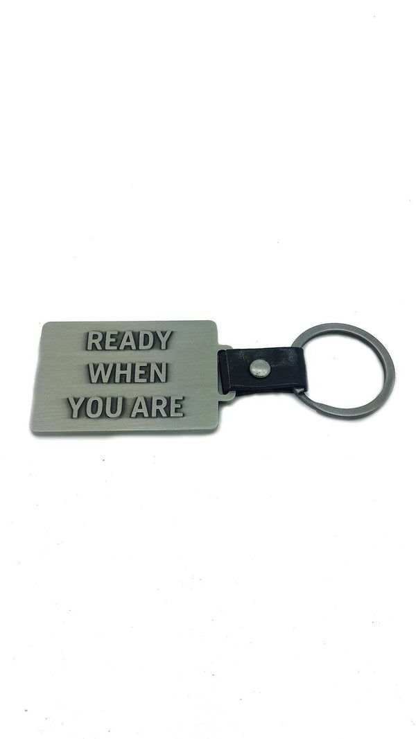 Husqvarna 'Ready When You Are' Keyring