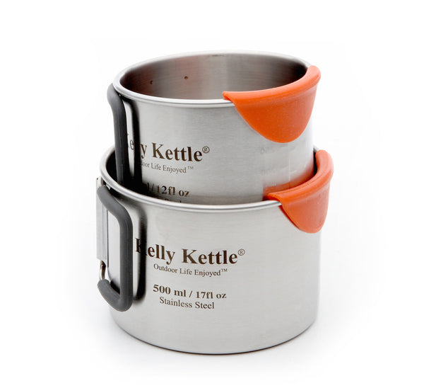 Kelly Kettle Camping Cup Set (350 & 500ml)