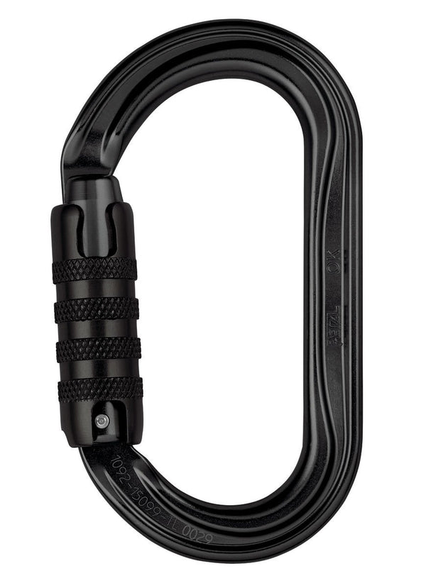 Petzl OK Triact Oval Carabiner - 3 Way