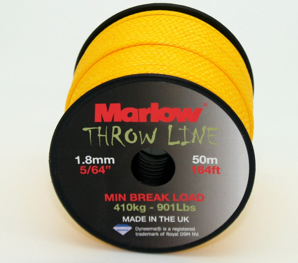 Marlow Dyneema throw line for arborists.